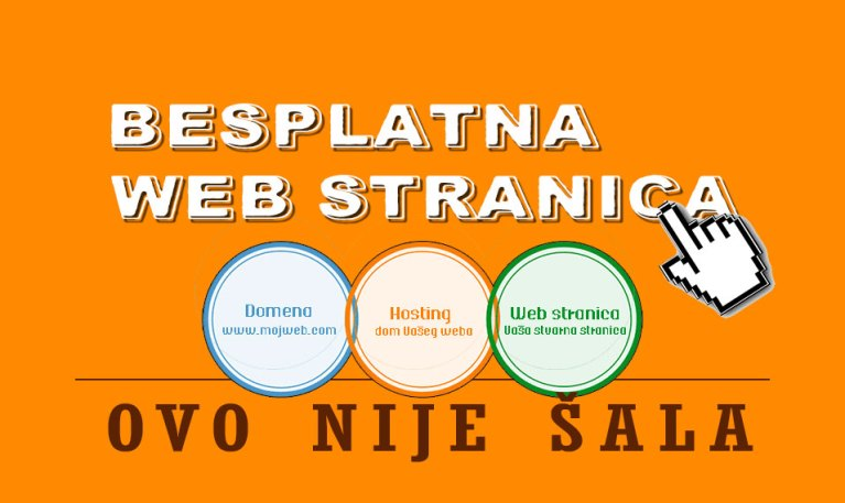 Kako do besplatne web stranice