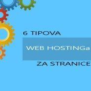Što je to shared, VPS i dedicated hosting