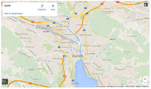 Googleova karta