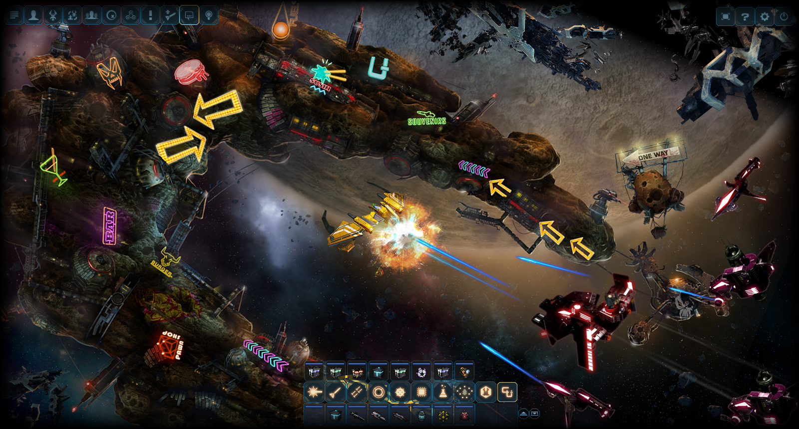 DarkOrbit Reloaded   MMO   space shooter