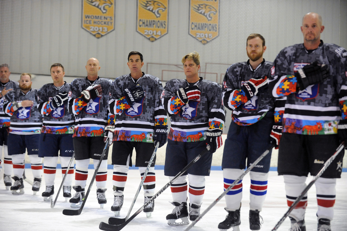 The Usa Warriors Ice Hockey Team