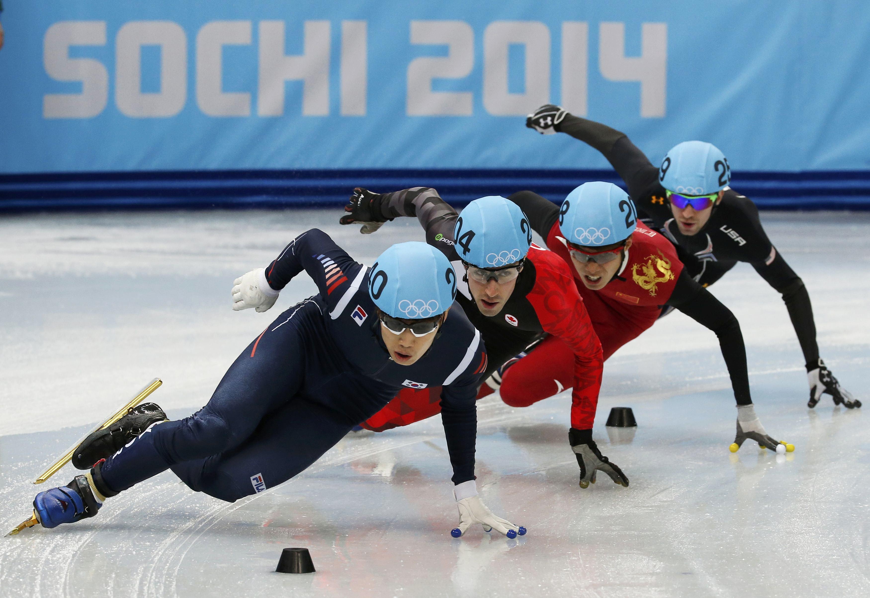 Sochi Olympics Day 5 Mancuso Wins Skiing Bronze Curling