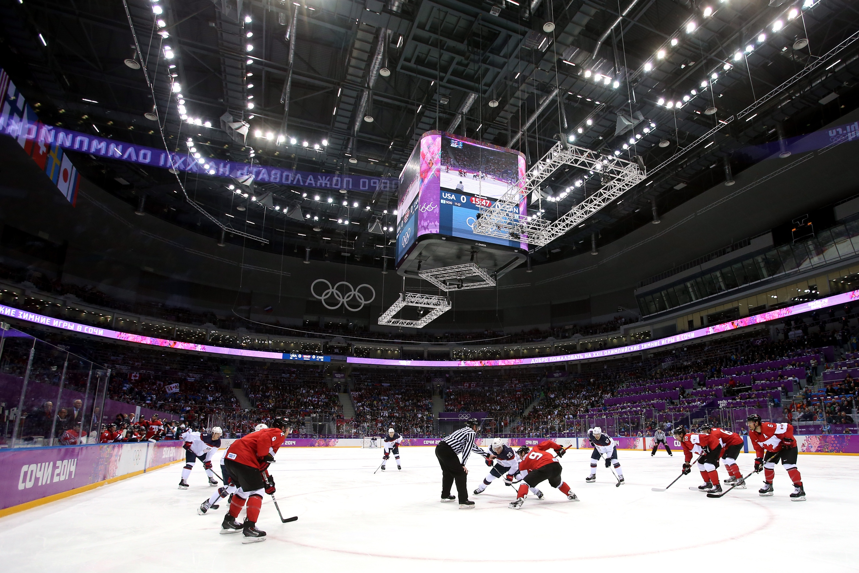 Sochi Olympics Day 16 Canada Defeats Us 1 0 To Move On To