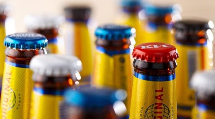 Body image for Brewer battles binge drinking with bottle cap brand giveaways