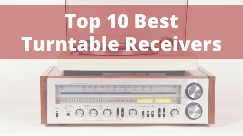 Top 10 best stereo receivers for turntables darkside vinyl feature image turntable with receiver