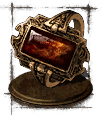 flame stoneplate ring