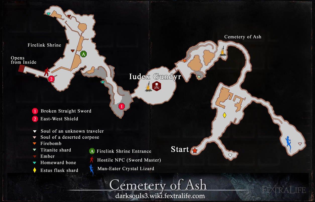 Mapa de Cementerio de Ash