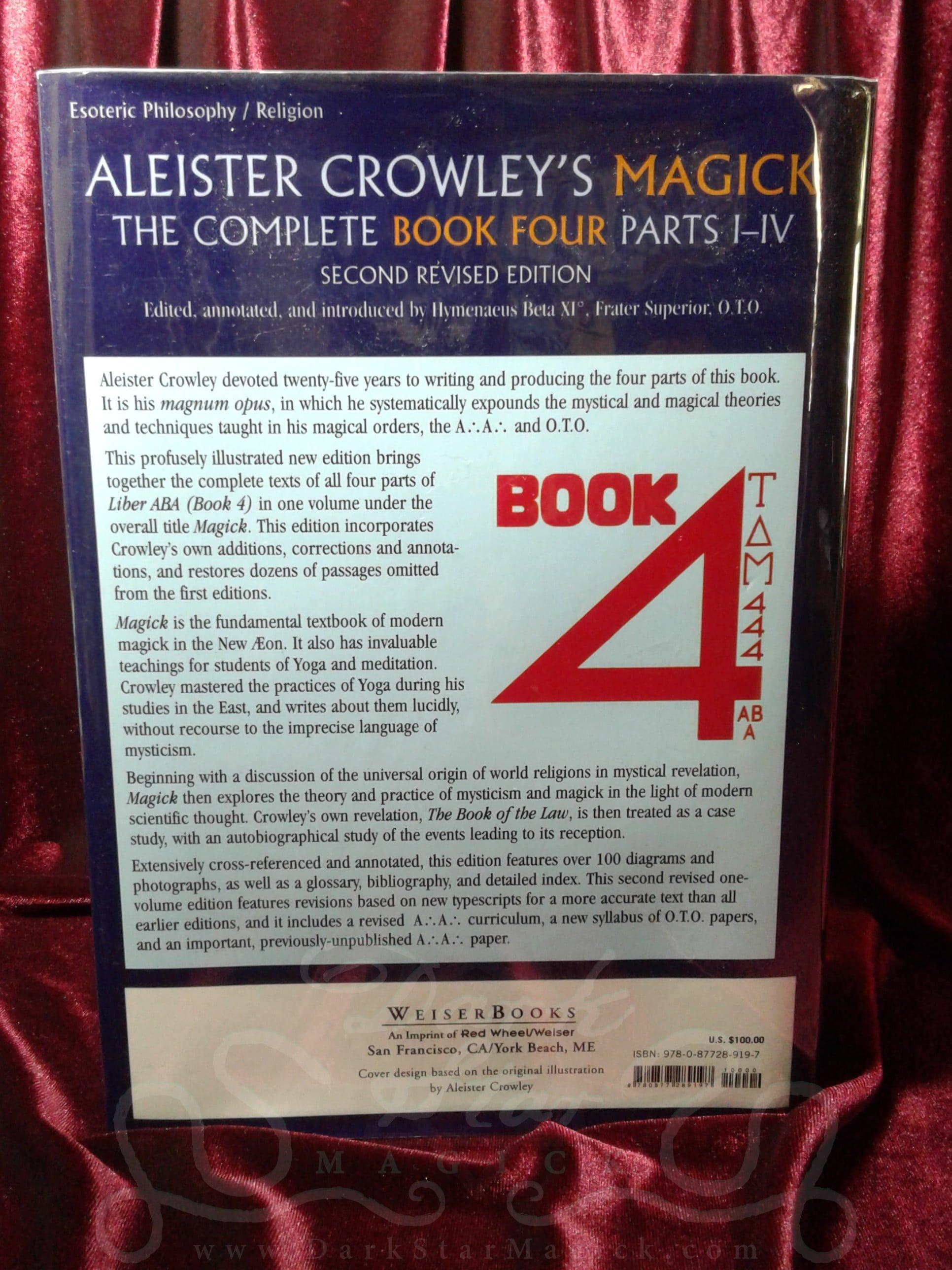 Magick - Book Four : Liber ABA, Parts I-IV ~ Dark Star Magick