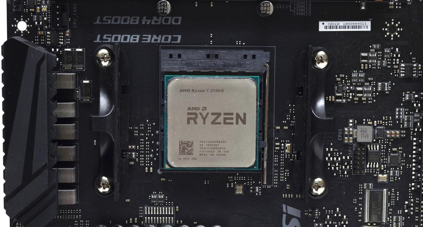 مراجعة معالجات Amd Ryzen 7 2700x و Ryzen 5 2600x Darktech