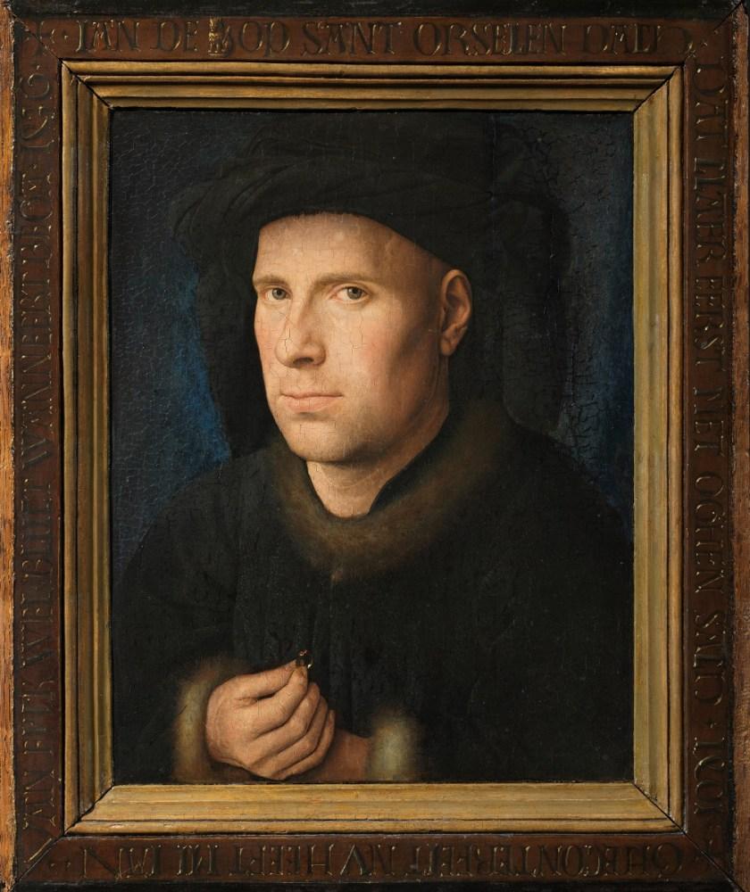 Jan van Eyck, Portrait of Jan de Leeuw, 1436, Kunsthistorisches Museum Vienna