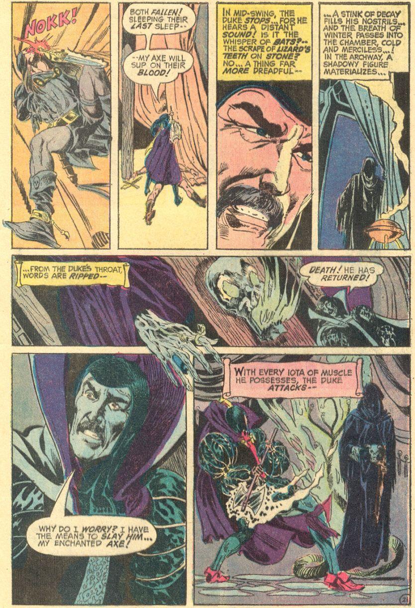 Artists of Sword & Sorcery: Neal Adams (1941-)