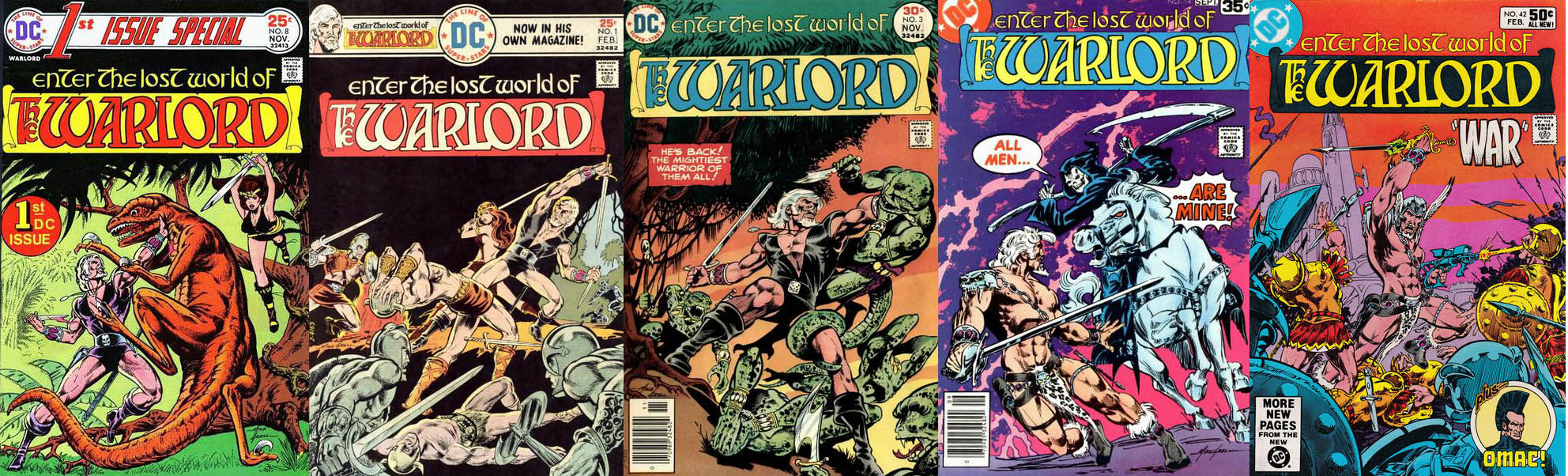 Sword & Sorcery at DC: The 1970s