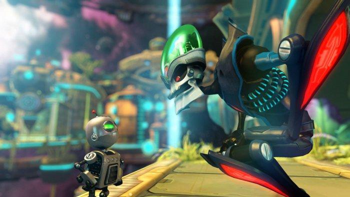 ratchet and clank a crack in time ps3 gameplay