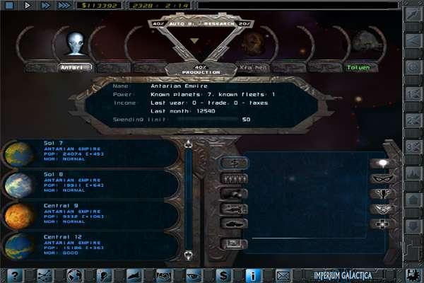 Imperium Galactica II: Alliances iOS review - DarkZero