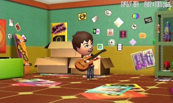 tomodachi life guitar