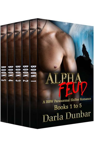 Alpha Feud BBW Paranormal Shifter Romance Series – Books 1 to 5