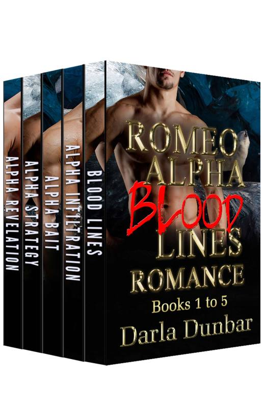 Romeo Alpha Blood Lines Romance Series – Books 1 to 5