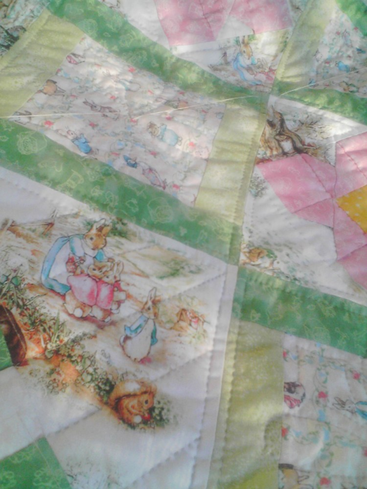 Beatrix Potter Baby Quilt (aka