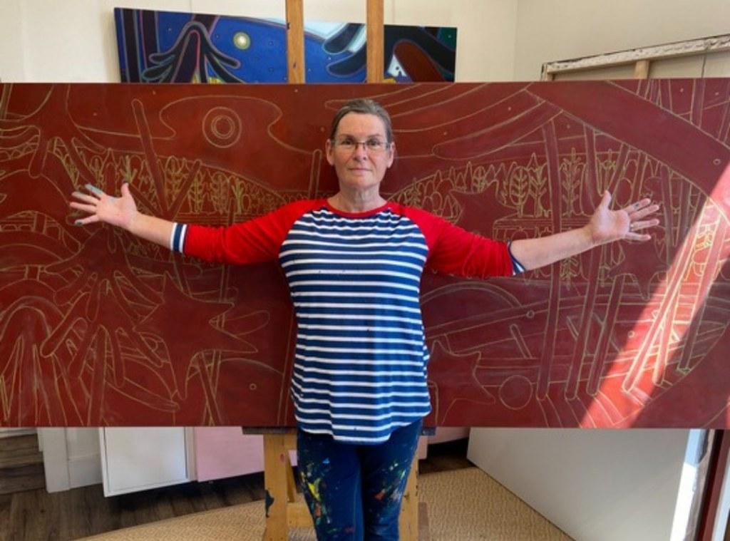 Chalk Composition - Commissions - Darlene Kulig