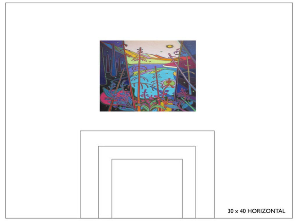 Select Canvas Size 30x40 - Commissions - Darlene Kulig