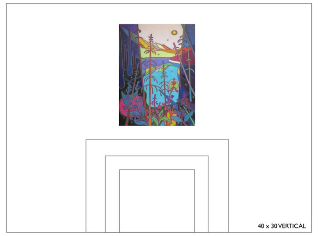 Select Canvas Size 40x30 - Commissions - Darlene Kulig