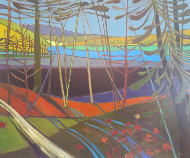 Autumn Colours - Sprucedale Ontario 30 x 36 - Darlene Kulig