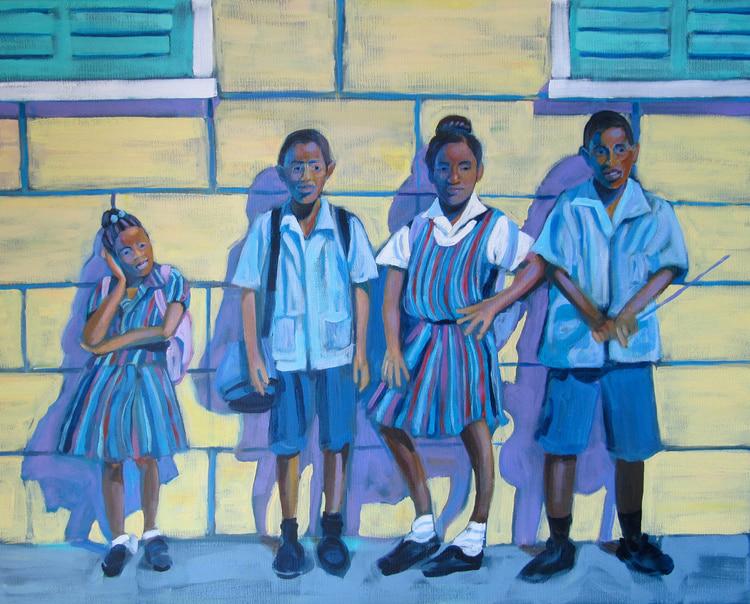 Barbados - After school - Darlene Kulig