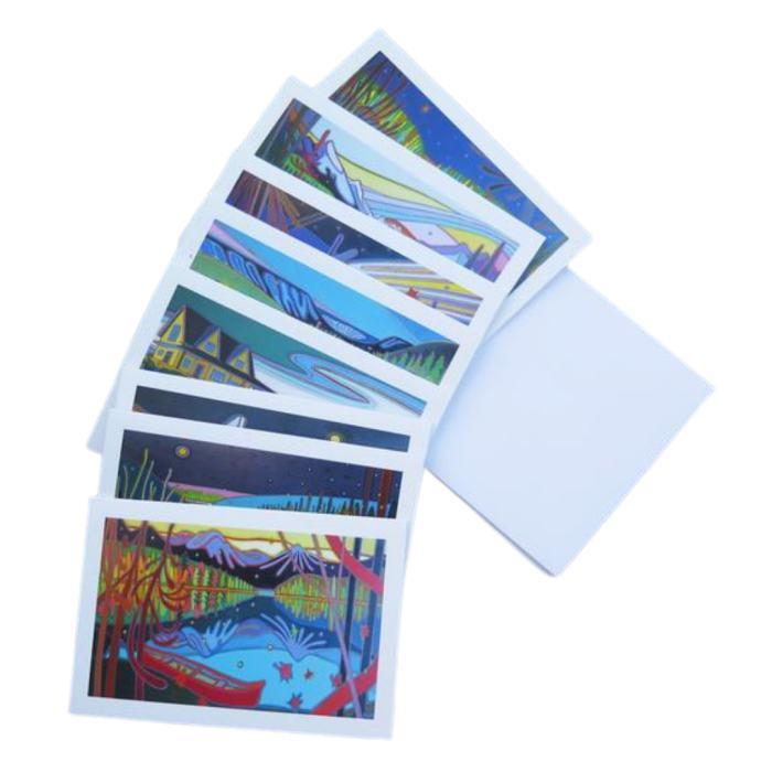 """Canadian Landscapes 6"""" x 4"""" Notecards - Darlene Kulig"""