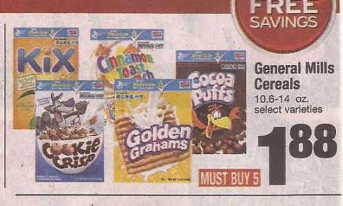 general-mills-cereal-sale-shaws