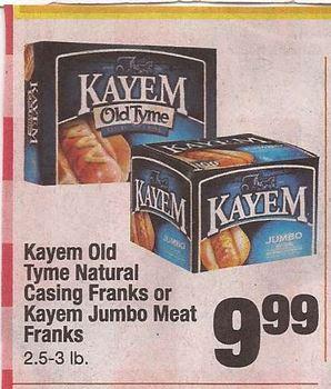 kayem-franks-shaws