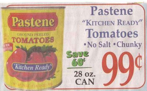 pastene-tomatoes-market-basket