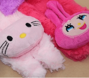 slippers hello kitty