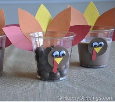 turkey-party-cups-happy-clippings-darlene-michaud-blog