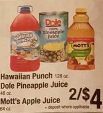 dole juice coupon deal darlene michaud