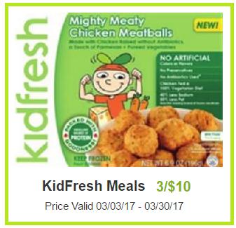 kidfresh meals coupon deal darlene michaud