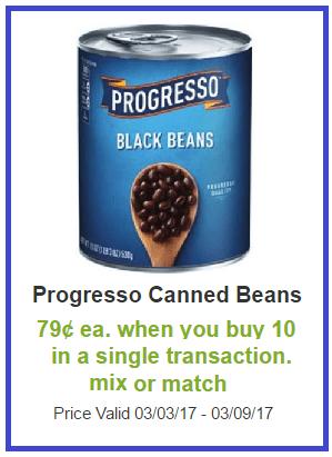 progresso beans shaws darlene michaud coupon deal