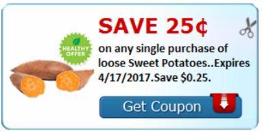 sweet potatoes savingstar