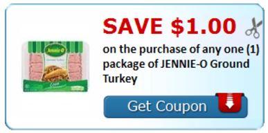 jennie o ground turkey coupon