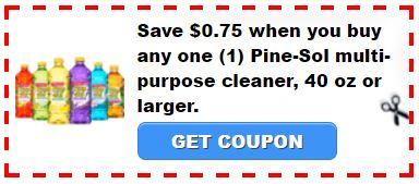 pine sol coupon