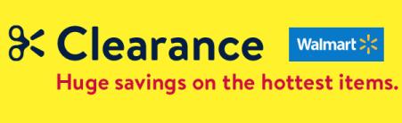 walmart clearance ad
