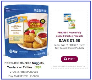 perdue chicken nuggets coupon deal darlene michaud