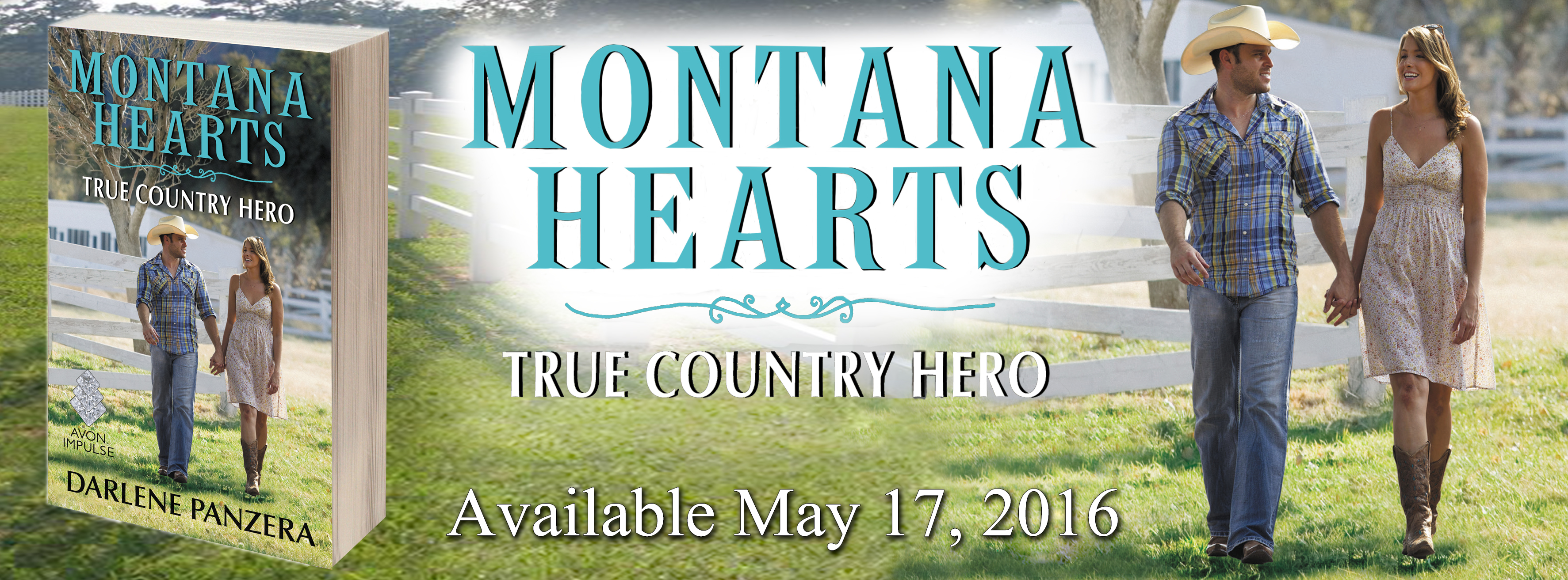n the third heartwarming installment of Darlene Panzera's Montana Hearts series, a hot-shot rodeo star tries to win the tender heart of his biggest critic For Jace Aldridge, the chase is half the fun. The famous rodeo rider has spent most of life chasing down steers and championship rodeo belts, but after an accident in the arena, his career is put on temporary hold. When he's offered a chance to stay at Collins Country Cabins, Jace jumps at the opportunity to spend more time with the beautiful but wary Delaney Collins. Between trying to make her family's business a success, raising her daughter single-handedly, and volunteering at the local wildlife shelter, Delaney doesn't have time for love. Even though she's determined to not let the handsome cowboy under her skin, Delaney can't deny how much she looks forward to every day with him. She's determined to be friends with the handsome cowboy, nothing more, even though Delaney's heart flutters every time he draws near. But all is not well in Fox Creek and when a violent poaching ring escalates out of control, Delaney must trust that Jace is the true country hero she hopes he is. An Avon Romance