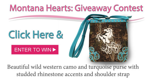 Montana Hearts Purse Giveaway