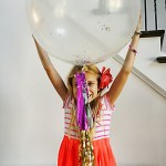 How to Make Jumbo Confetti Balloons with Tassels