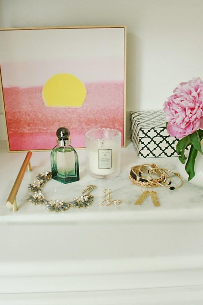 DIY: Marble Vanity Tray