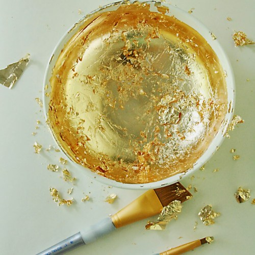 Gold Techniques for Crafting and Home Decor