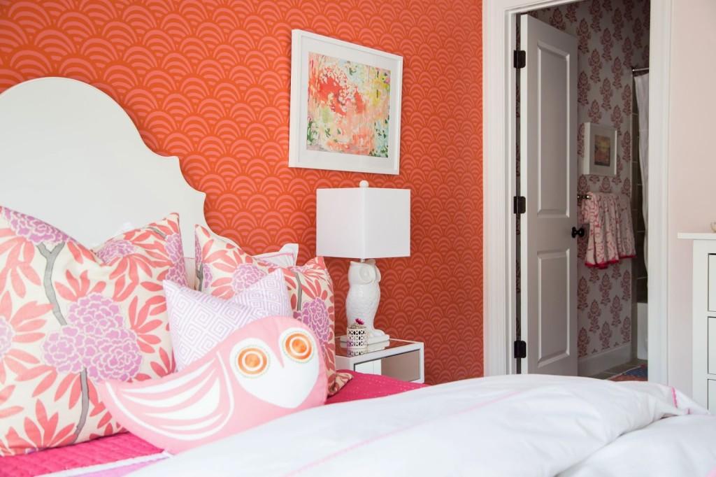 Tween Girl Bedroom Pink Coral Darling Darleen A Lifestyle Design Blog