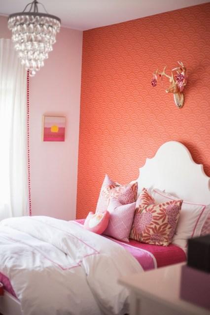 Tween Girl Bedroom Pink Coral Darling Darleen A