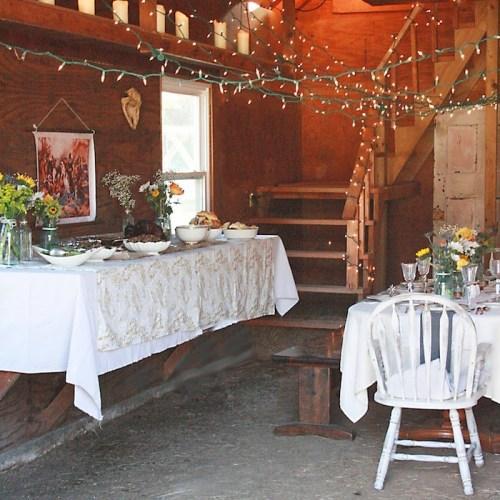 Thanksgiving Barn Dinner: Adult Table