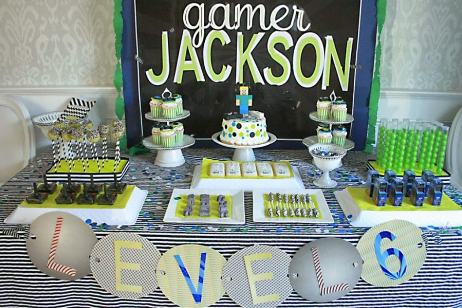 Video Game Birthday Party   Darling Darleen   A Lifestyle Design Blog Video Game Birthday Party